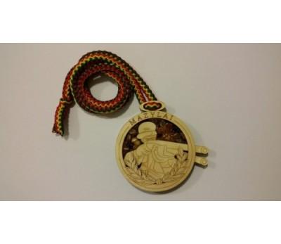 "Medalis su gitaru ""Mazylai"""