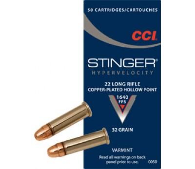 Šoviniai CCI, kal. 22LR, STINGER 32 grain