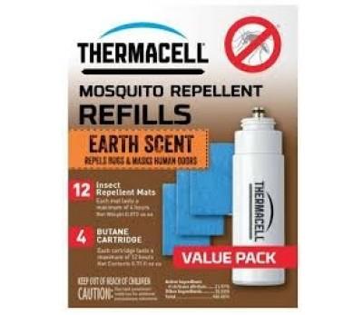 Thermacell užpildymo paketas ( žemės kvapo ).