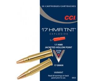 Šoviniai CCI, kal. 17HMR, JHP 17 grain