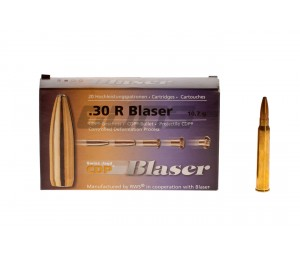 Blaser CDP, kal. 30 R Blaser, 10,7g.