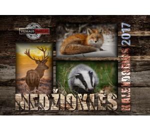 Medžioklės Kalendorius 2017